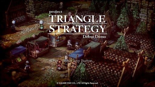 """画像集#001のサムネイル/「Project TRIANGLE STRATEGY」先行体験版プレイレポート。戦闘は""""オウガ""""寄り,緩やかに変動するシナリオと洗練されたインタフェースに注目"""
