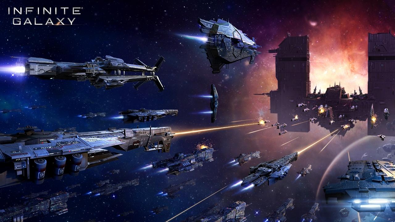 Infinite Galaxy」は,やり込み要素とPvEコンテンツが充実したSFストラテジー。自分だけの艦隊を率いて,広大な銀河を冒険しよう