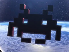 Square Enix,スマートフォン向け「Space Invaders」を発表。拡張現実を使ったインベーダーとの新しい戦いが始まる?