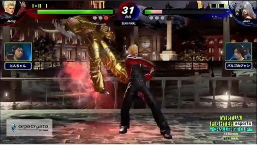 画像集#011のサムネイル/「VIRTUA FIGHTER esports CHALLENGE CUP SEASON_0 FINAL」レポート。栄えある舞台で2人の新たなスタープレイヤーが誕生