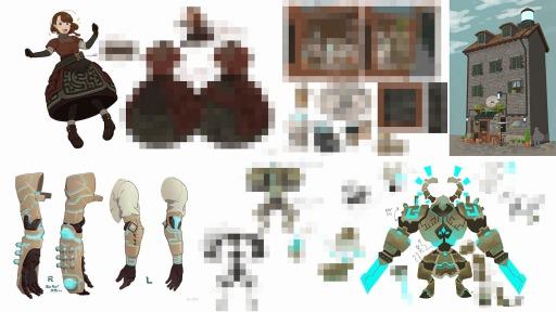 画像集#011のサムネイル/VRゲーム「RUINSMAGUS」のクラウドファンディングが7月29日に開始