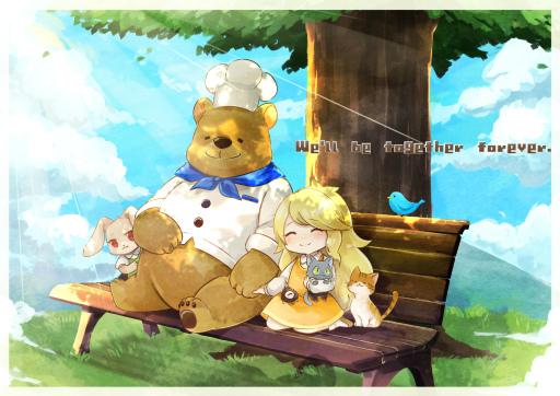 画像集#006のサムネイル/Switch版「くまのレストラン」発売を記念してLINEスタンプがリリース