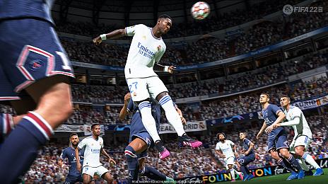 画像集#001のサムネイル/サッカーゲーム最新作「FIFA 22」が2021年10月1日に発売決定。パッケージは2年連続でキリアン・ムバッペ選手に