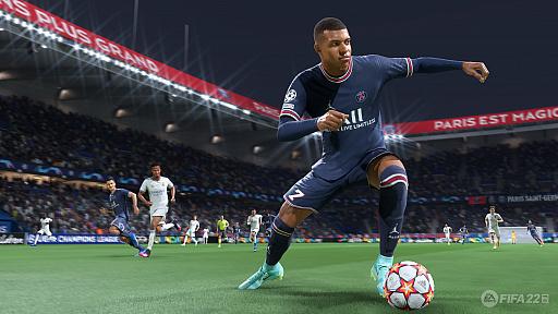 画像集#002のサムネイル/「FIFA 22」バーチャルプレビューイベントの模様をお届け。新世代ハードで実現したテクノロジー「HyperMotion」により,選手の動きがよりリアルに