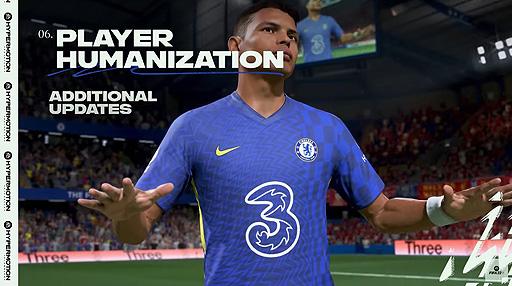 """画像集#009のサムネイル/「FIFA 22」のゲームプレイトレイラーが公開。""""HyperMotion""""を中心に,ゲームをより本物に近づけるためのテクノロジーを紹介"""