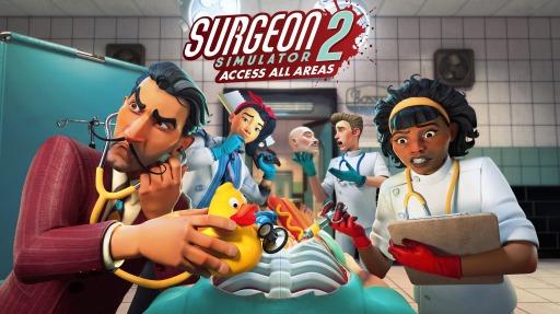 画像集#010のサムネイル/「Surgeon Simulator 2: Access All Areas」が本日リリース。購入者はほかのBossa Studios作品を期間限定で無料プレイ可能