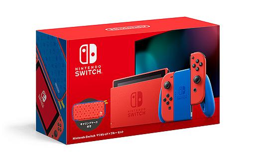 画像集#013のサムネイル/Switch新色「マリオレッド×ブルー セット」が2月12日に発売へ。本体カラーを変更した初のセットで,予約受付は1月25日より順次開始