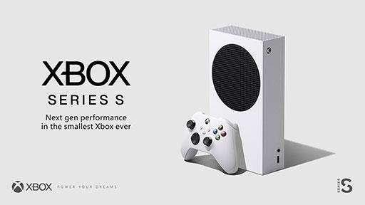 画像(002)Microsoftが新型ゲーム機「Xbox Series S」を発表。歴代Xbox最小のボディで価格は299ドル