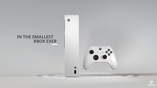 画像(002)299ドルの次世代機・Xbox Series Sは11月10日発売へ。Xbox Series Xより約60%小さく,1440p/120fps対応,512GBのSSDを搭載