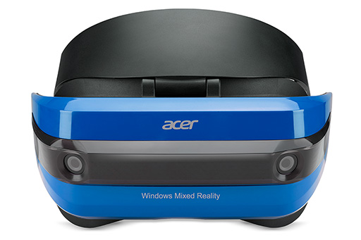 Acer,Windows Mixed Reality対応の開発者向けMR HMDを国内で予約受付開始