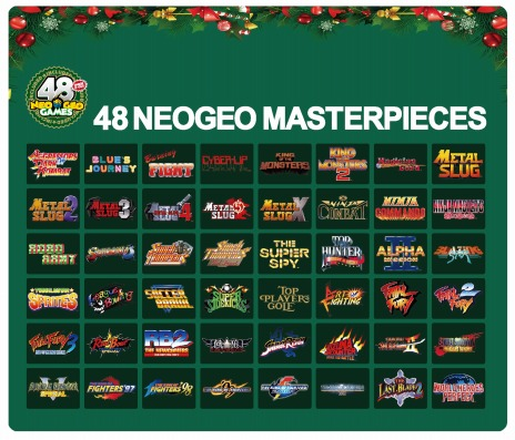 画像(005)NEOGEO miniのクリスマス限定版「NEOGEO mini Christmas Limited Edition」が発売決定。国内,北米,欧州での予約受付を近日開始