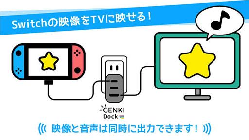 画像(002)手のひらサイズのSwitch用小型ドック「GENKI Dock」の先行販売がクラウドファンディングサイトで始まる