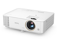 BenQ,低遅延でゲーマー向けを謳うDLP式プロジェクタを発売。約2.5m先に100インチサイズのフルHD映像を投影