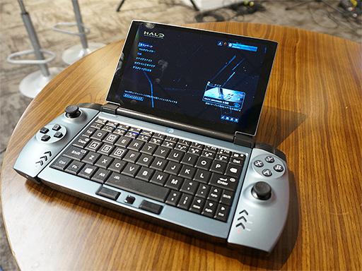画像(009)話題のゲーマー向け超小型PC「OneGx1」が国内初披露。合体可能なゲームパッドやLTE対応は競合製品にない魅力だ