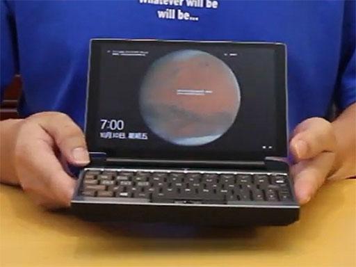 画像集#001のサムネイル/Tiger Lakeを搭載した小型ゲームPC「OneGx Pro」試作機のデモ動画が公開。FF XIVも快適にプレイ可能に?