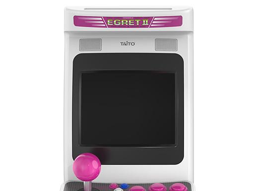 画像集#003のサムネイル/タイトーの名作アーケードゲームを収録した小型ゲーム機「EGRETII mini」が2022年3月2日に発売