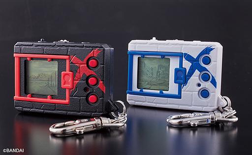 """携帯液晶玩具「デジタルモンスターX ブラック/ホワイト」の予約受付が本日スタート。X-進化を遂げた""""X抗体デジモン""""が多数収録"""
