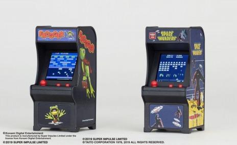 画像(005)「スペースインベーダー」と「フロッガー」がミニ筐体ゲーム「TINY ARCADE」の第2弾として登場。7月下旬に発売決定