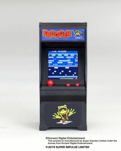 画像(009)「スペースインベーダー」と「フロッガー」がミニ筐体ゲーム「TINY ARCADE」の第2弾として登場。7月下旬に発売決定