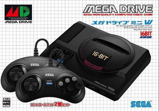 画像(004)「メガドライブ ミニ」は2019年9月19日発売。価格は6980円(税別)から。収録タイトルは40本に
