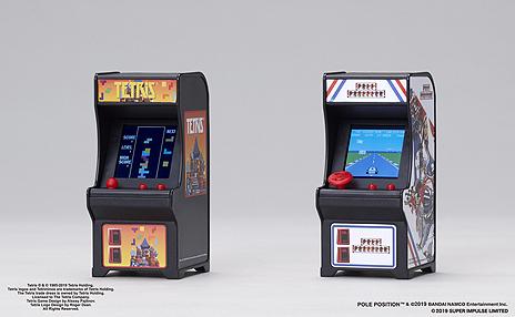 画像(004)ミニ筐体ゲームシリーズ「TINY ARCADE」の第3弾は「テトリス」と「ポールポジション」。9月上旬より販売へ