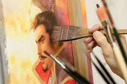 画像(003)「信長の野望」シリーズなどのイラストを手がける長野 剛氏の原画展が6月と7月に東京で開催