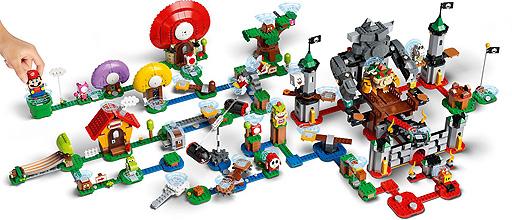 画像(002)「レゴ スーパーマリオ」の全ラインナップが8月1日に発売へ。発売記念でレゴ ポップアップストア5店舗が同日から順次オープン