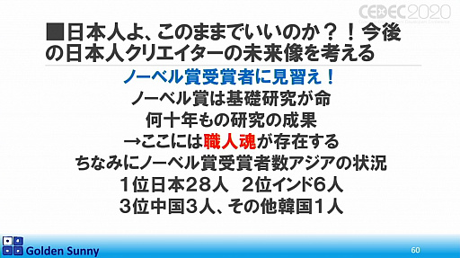 画像(045)[CEDEC 2020]日本人よ,このままでいいのか? 日中ゲーム開発の現状や,日本のゲーム開発者が進むべき道が熱い思いで語られた講演をレポート