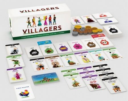 画像(002)村を建築するボードゲーム「ヴィレジャーズ」が発売に