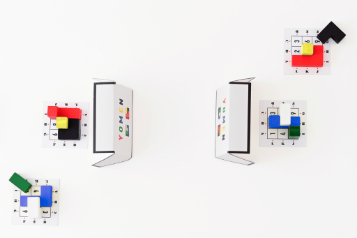 画像(003)推理ゲーム「ヨメン」が9月24日発売。質問で得た情報から相手が持つブロックの形を言い当てろ