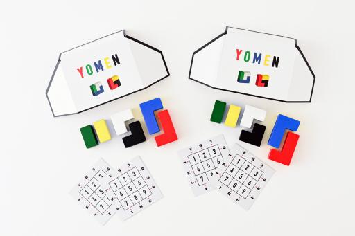 画像(004)推理ゲーム「ヨメン」が9月24日発売。質問で得た情報から相手が持つブロックの形を言い当てろ