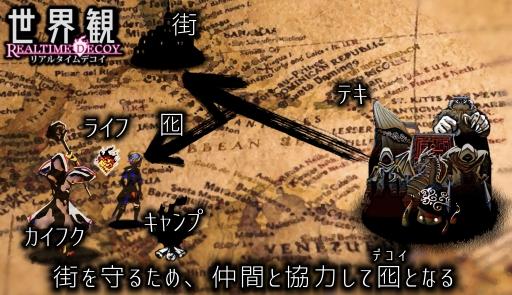画像集#004のサムネイル/アナログボードゲーム「リアルタイムデコイ」の先行予約がMakuakeで開始
