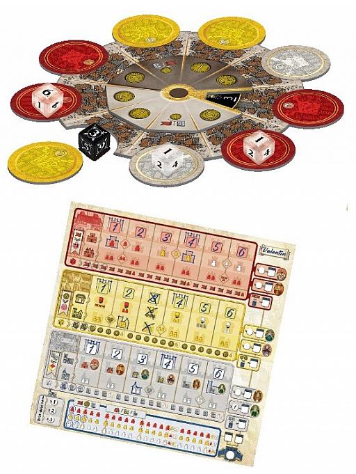 画像集#002のサムネイル/ボードゲーム「トロワ ダイス」日本語版が発売開始