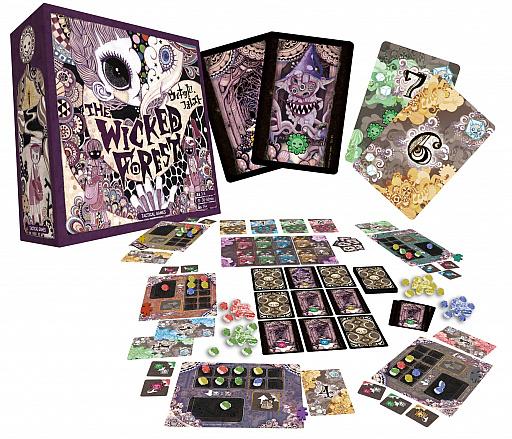 画像集#003のサムネイル/ボードゲーム「ウィキッド・フォレスト」の追加販売がスタート