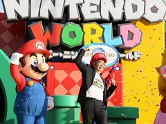 USJの新エリア「SUPER NINTENDO WORLD」グランドオープンセレモニーが開催。宮本 茂氏が,現実に再現されたマリオの世界への思いを語った