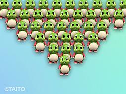 バブルボブル」シリーズなどのバブルンが大量発生して都内を侵略 ...