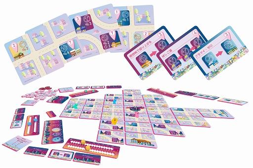 画像集#002のサムネイル/ボードゲーム「イッツファイブピーエム」が4月下旬に発売。ゲームマーケット2021春で先行販売を実施