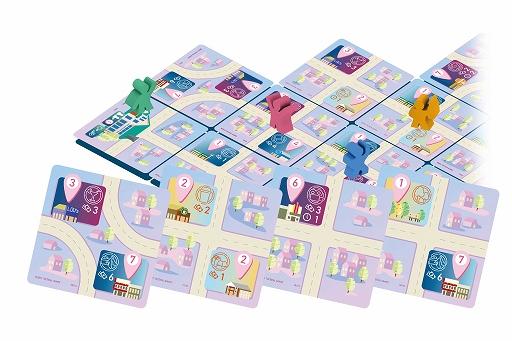 画像集#003のサムネイル/ボードゲーム「イッツファイブピーエム」が4月下旬に発売。ゲームマーケット2021春で先行販売を実施