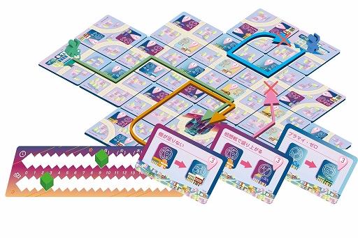 画像集#004のサムネイル/ボードゲーム「イッツファイブピーエム」が4月下旬に発売。ゲームマーケット2021春で先行販売を実施