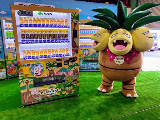 """画像集#010のサムネイル/ご当地""""推しポケモン災害対応自販機""""が7道県で展開――設置場所は「Pokémon GO」のジムになる予定"""