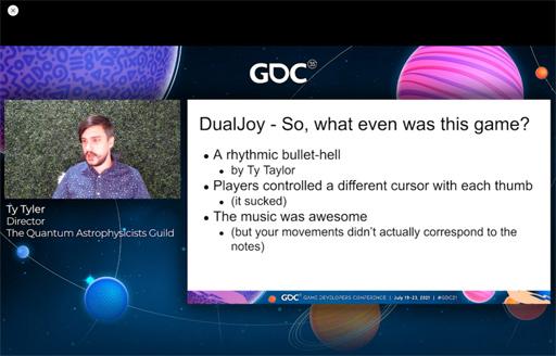 画像集#006のサムネイル/[GDC 2021]今年もFailure Workshopがやってきた。作者自ら「最低のゲームと最高のサントラ」と評するリズムゲームに,何が起こったのか
