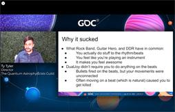 画像集#008のサムネイル/[GDC 2021]今年もFailure Workshopがやってきた。作者自ら「最低のゲームと最高のサントラ」と評するリズムゲームに,何が起こったのか