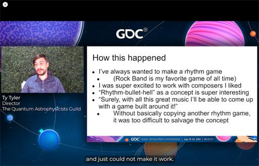 画像集#011のサムネイル/[GDC 2021]今年もFailure Workshopがやってきた。作者自ら「最低のゲームと最高のサントラ」と評するリズムゲームに,何が起こったのか