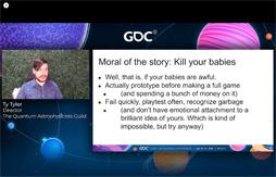 画像集#012のサムネイル/[GDC 2021]今年もFailure Workshopがやってきた。作者自ら「最低のゲームと最高のサントラ」と評するリズムゲームに,何が起こったのか