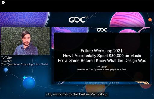 画像集#014のサムネイル/[GDC 2021]今年もFailure Workshopがやってきた。作者自ら「最低のゲームと最高のサントラ」と評するリズムゲームに,何が起こったのか