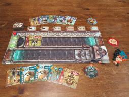 画像集#003のサムネイル/2人用ボードゲーム「ニコデマス」の日本語版が10月下旬に発売